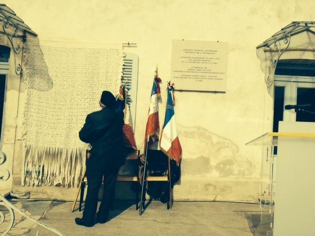 Maison d'Izieu, cérémonie du 6 avril 2014 (crédit photo : Stéphane Nivet)